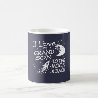 I Love My GrandSon to the Moon and Back Coffee Mug