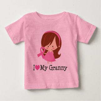 I Love My Granny Breast Cancer Ribbon T-shirt