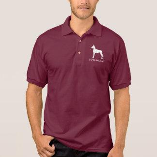 I Love My Great Dane! Polo Shirt