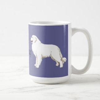I Love my Great Pyrenees Coffee Mug