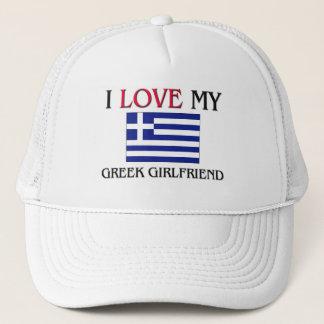 I Love My Greek Girlfriend Trucker Hat