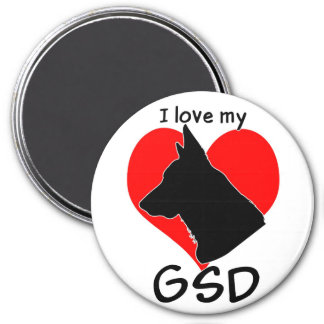 I love my GSD! Magnet