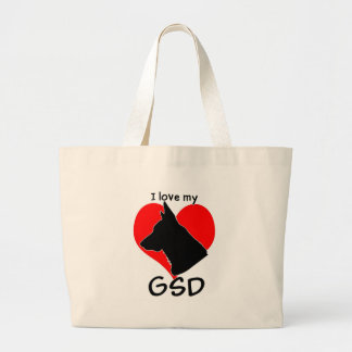 I love my GSD tote bag!