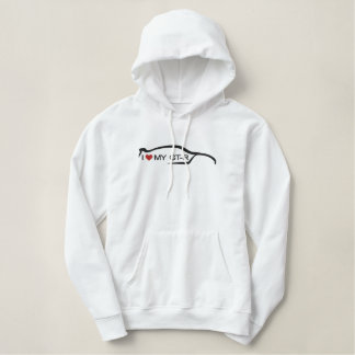 I Love My GT-R Embroidered Hoodie