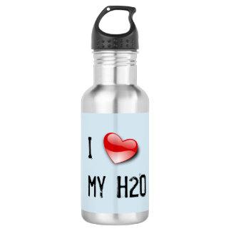 I love my H2O water bottle