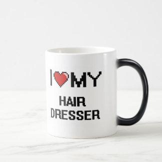 I love my Hair Dresser 11 Oz Magic Heat Color-Changing Coffee Mug