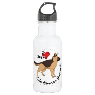 I Love My Happy Adorable & Cute German Shepherd 532 Ml Water Bottle