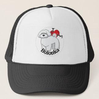 I Love My Happy Adorable Funny & Cute Bolonka Dog Trucker Hat