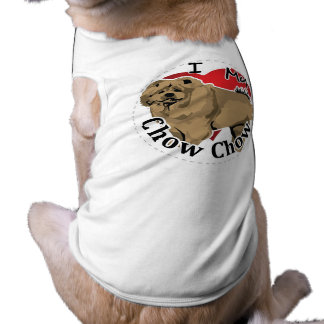 I Love My Happy Adorable Funny & Cute Chow Chow Dog T Shirt