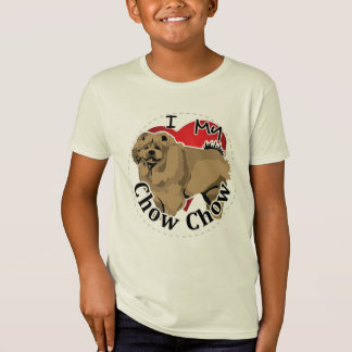 I Love My Happy Adorable Funny & Cute Chow Chow T-Shirt