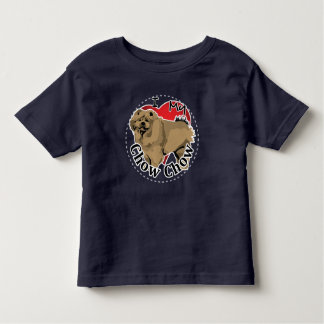 I Love My Happy Adorable Funny & Cute Chow Chow Toddler T-shirt