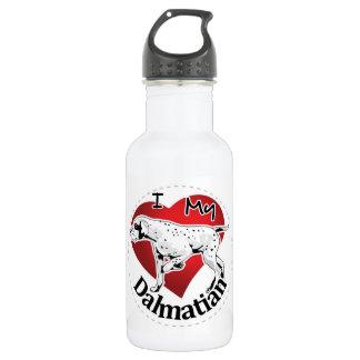 I Love My Happy Adorable Funny & Cute Dalmatian 532 Ml Water Bottle
