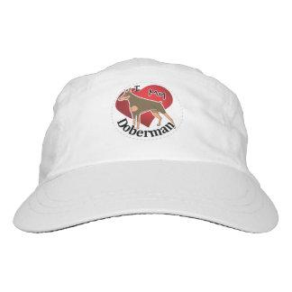 I Love My Happy Adorable Funny & Cute Doberman Dog Hat