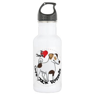 I Love My Happy Adorable Funny & Cute Jack Russell 532 Ml Water Bottle