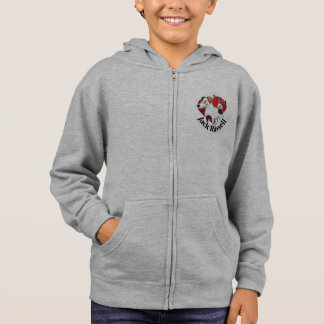 I Love My Happy Adorable Funny & Cute Jack Russell Hoodie
