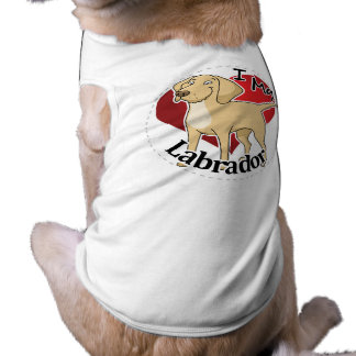 I Love My Happy Adorable Funny & Cute Labrador Dog Pet T Shirt