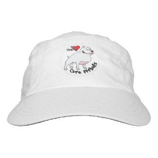 I Love My Happy Adorable Funny & Cute Pitbull Dog Hat