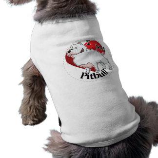 I Love My Happy Adorable Funny & Cute Pitbull Dog Shirt