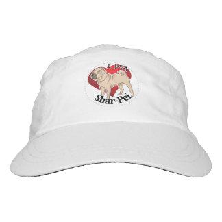 I Love My Happy Adorable Funny & Cute Shar-Pei Dog Hat