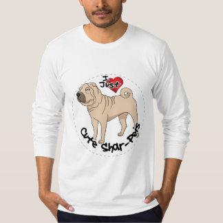 I Love My Happy Adorable Funny & Cute Shar Pei Dog T-Shirt