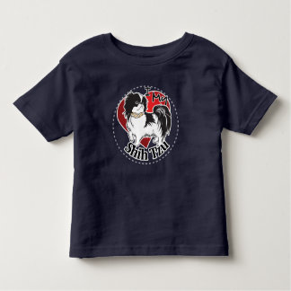 I Love My Happy Adorable Funny & Cute Shih Tzu Dog Toddler T-shirt