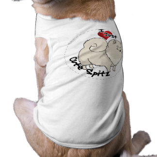 I Love My Happy Adorable Funny & Cute Spitz Dog Shirt