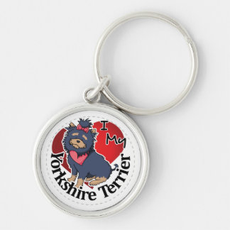 I Love My Happy Adorable Funny & Cute Yorkshire Te Keychain