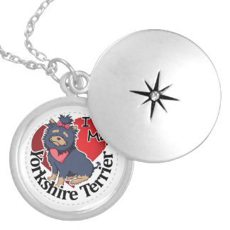 I Love My Happy Adorable Funny & Cute Yorkshire Te Locket Necklace