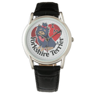 I Love My Happy Adorable Funny & Cute Yorkshire Te Watch