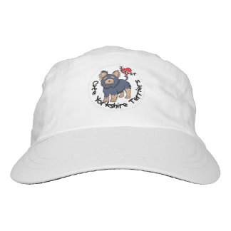 I Love My Happy Funny & Cute Yorkshire Terrier Hat