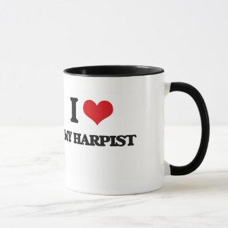 I Love My Harpist Mug