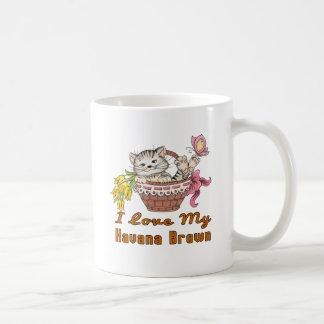 I Love My Havana Brown Coffee Mug