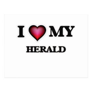 I love my Herald Postcard