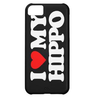 I LOVE MY HIPPO iPhone 5C CASES