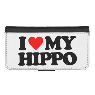 I LOVE MY HIPPO iPhone 5 WALLET
