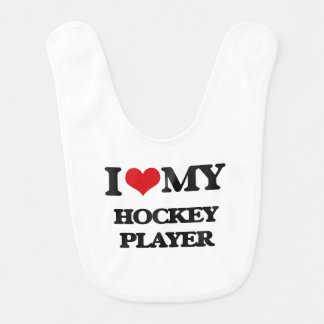 I love my Hockey Player Bib