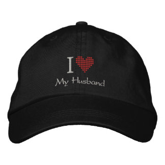 I Love My Husband Hat