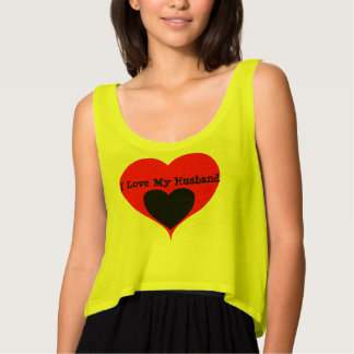 I love my husband Heart Shirt/Tees Tank Top