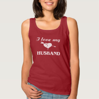 I Love My Husband Tank Top
