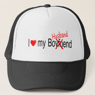 I Love My Husband Trucker Hat