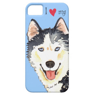 I Love my Husky Case For The iPhone 5