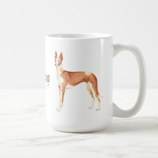 I Love my Ibizan Hound Coffee Mug