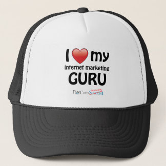 I Love My IM Guru Trucker Hat