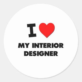 I love My Interior Designer Sticker