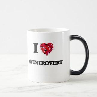 I Love My Introvert Morphing Mug
