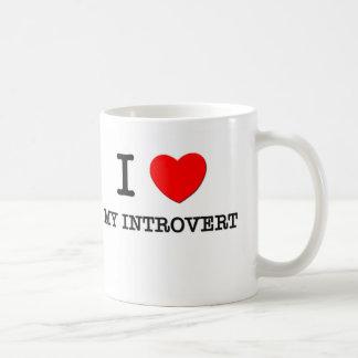 I Love My Introvert Mug