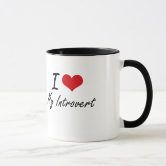 I Love My Introvert Mug