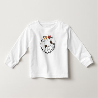 I Love My Jack Russell Dog Toddler T-shirt
