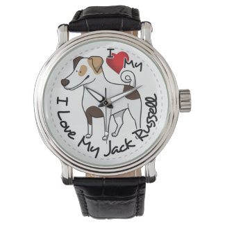 I Love My Jack Russell Dog Watch