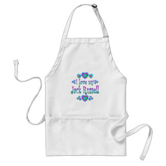 I Love My Jack Russell Standard Apron